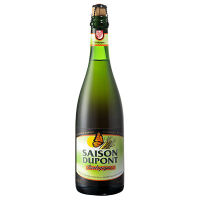 5410702000812 Saison Dupont Bio<sup>1</sup> - 75cl Bottle conditioned organic beer (control BE-BIO-01)