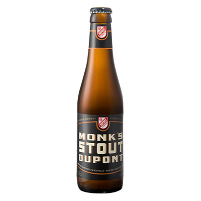 5410702001314 Monk's Stout Dupont - 33cl Bier met nagisting in de fles